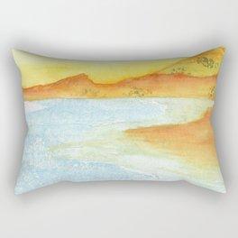 Hillside Beach Rectangular Pillow