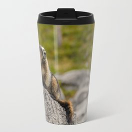 Loud Mouth Marmot Travel Mug