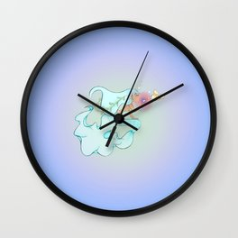 Atlantis Mermaid and Friend Wall Clock