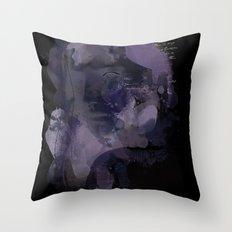 Watercolour Girl Throw Pillow