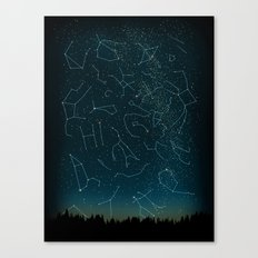 There IS somebody out there! Canvas Print