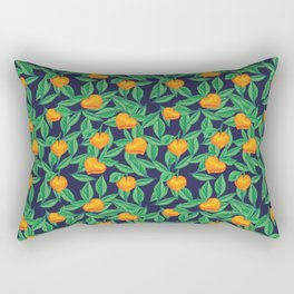 Orange garden Rectangular Pillow