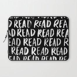 Read, Read, Read (Black) Laptop Sleeve