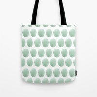 polkadot Tote Bags featuring Watercolour polkadot by studio groenling