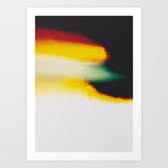 LightLeak Art Print