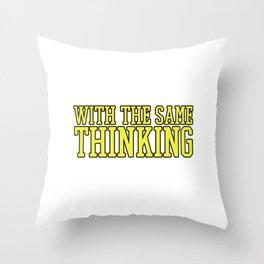 Hilarious Problem Solve Tshirt Design Create them Throw Pillow