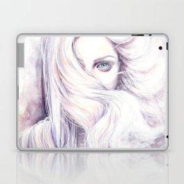 Aura - wind illustration Laptop & iPad Skin