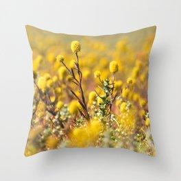 Outback flower bonanza Throw Pillow