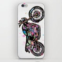 Motorcycle - Bonneville Triumph T100  iPhone Skin