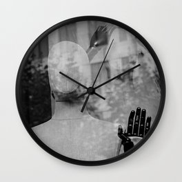 street photography in frankfort Wall Clock