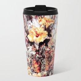 RPE FLORAL ABSTRACT Travel Mug