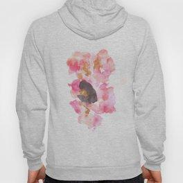 Watercolor Pink Black Flow | [dec-connect] 4. dark seed Hoody