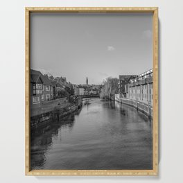 River Wensum, Norwich Serving Tray