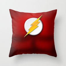 Flash Suit Throw Pillow
