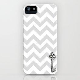 Chevron Key iPhone Case
