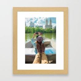 #views Framed Art Print