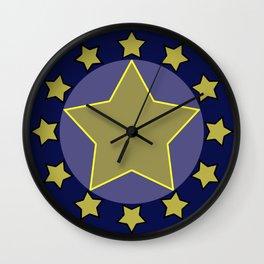 hero shield Wall Clock