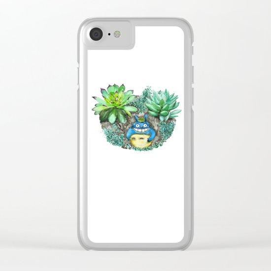 succulent plant set Clear iPhone Case