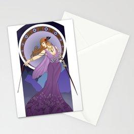 Feyre Archeron Art Nouveau Stationery Cards