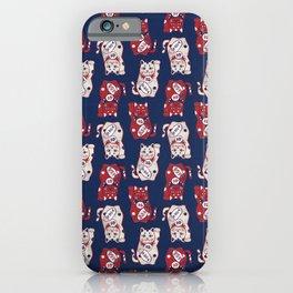 Lucky Cat / Maneki Neko (招き猫) iPhone Case