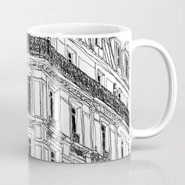 Parisian Facade Coffee Mug