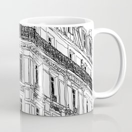 Parisian Facade Coffee Mug