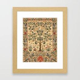 "William Morris ""Tree of life"" 3. Framed Art Print"
