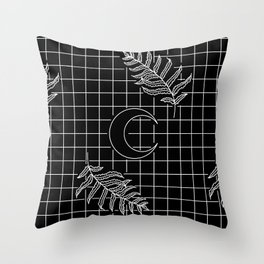 Moon Oracle Throw Pillow