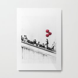 red balloons Metal Print