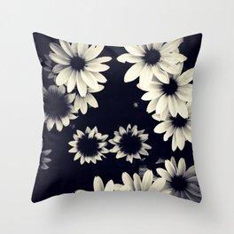 Black Eyed Susans  Throw Pillow