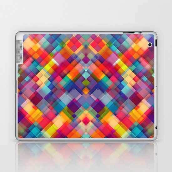 Squares Everywhere Laptop & iPad Skin