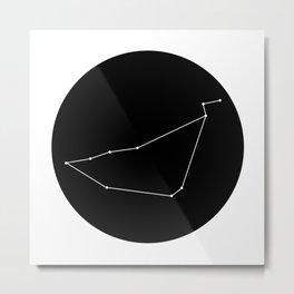CAPRICORN (MINIMALIST DESIGN) Metal Print