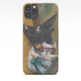 Waiting by Edgar Degas iPhone Case