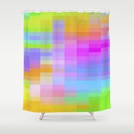 VELOCITY OF CHANGE Shower Curtain