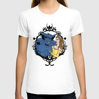 beauty and the beast T-shirts featuring Beauty and Beast by Don Calamari