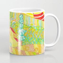 Tuscany, Italy. Doodle landscape Coffee Mug