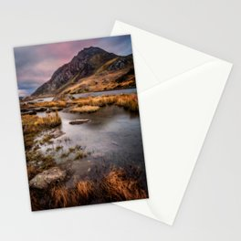 Tryfan Mountain Wales Stationery Cards