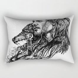 Threads of destiny Rectangular Pillow