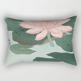 Lotus Lilies  Rectangular Pillow