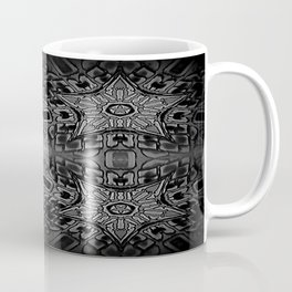 Black Gothic Stars Coffee Mug