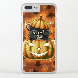 Spooky Cutey - v2 Candy Clear iPhone Case