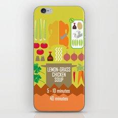 Lemongrass Chicken Soup iPhone & iPod Skin