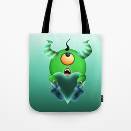 Lovey Dovey Cyclops Baby Tote Bag