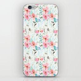 Garden Watercolour Floral iPhone Skin