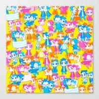 sterek Canvas Prints featuring STEREK /#4 by Yoshimoto