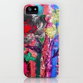 Pink Bird nest iPhone Case