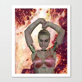 Robo Queen Canvas Print
