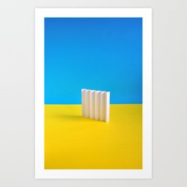 Paper Play 1 Art Print