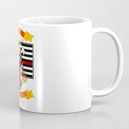 Wildland Firefighter Hero Thin Red Line Smokejumper Gift Coffee Mug