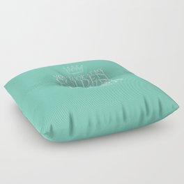 My Golden Crown Floor Pillow